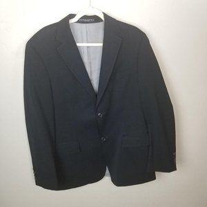 Hugo Boss Men's 40S Black 100% Wool Long Sleeve Tw